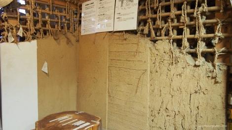 Stegvis hvordan en bygger gamle hus i Japan