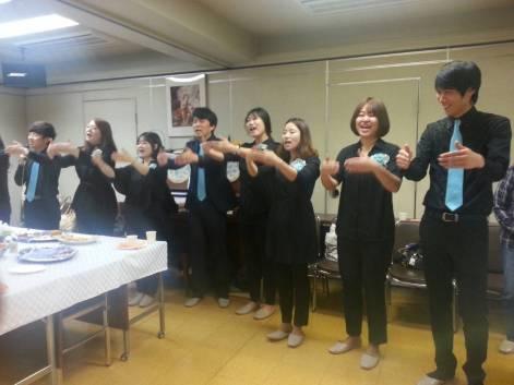 Konsert med kor fra Korea